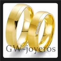 Alianzas De Oro 9grs El Par