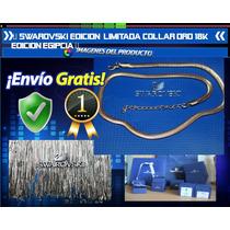Swarovski Edicion Limitada Cadena Collar 18k Edicion Egipcia