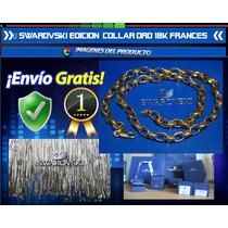 Swarovski Edicion Limitada Collar Oro 18k Frances