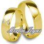 Par Alianzas Oro18k -exclusivas - 15 Gramos-merlinjoyas