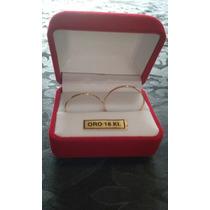Par Alianzas Casamiento Compromiso Oro 18 K