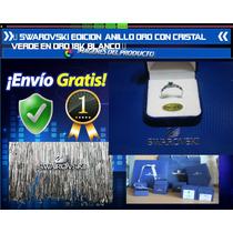 Swarovski Edicion Limitada Alianza Oro Blanco 18k Cristal Ve
