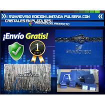 Swarovski Edicion Limitada Pulsera Con Cristales Plata 925
