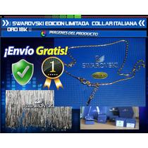 Swarovski Edicion Limitada Collar Italia Oro 18k