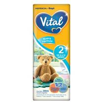 Leche Vital 2 Nutri Plus X 200ml (30 Bricks) Punto Bebé