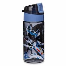 Botella De Agua Plastiica / Termo Disney Store Star Wars