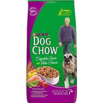 Dog Chow Adultos Mayores De 7 Años 21 Kg Mascota Food