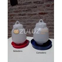 Bebederos Y Comederos Pollitos Y Aves De Corral De 3 Litros