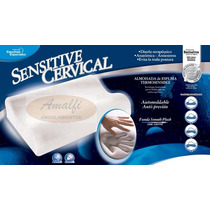Almohada Inteligente Fiber Ball Cervical Viscoelastica + Env