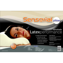 Almohada Sensorial Látex Performance