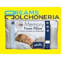 Almohada Piero Memory Foam Pillow Espuma Con Memoria Premium