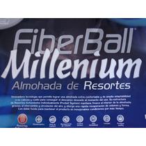 Almohada Millenium Con Resortes Hipoalergenica Fiberball