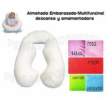 Almohada Embarazadas,descanso,amamantar+cervical Bebe!!!!