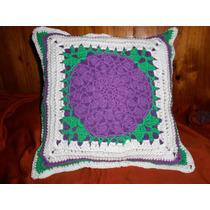 Almohadon Con Frente Crochet