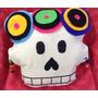 Almohadon Sugar Skull Frida Khalo Calavera