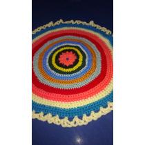 Alfombras Forradas Tejidas Al Crochet
