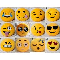 Almohadon Emoticones Decorativos Con Cierre,unicos!!!
