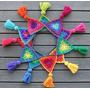 Banderines De 1m Y Adornos Crochet