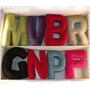 Almohadones Letras Decorativos Personalizados 40cm