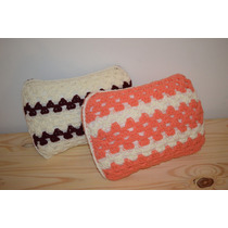 Almohadon Tejido Al Crochet Almohadita