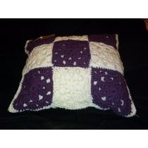 Almohadones De Crochet Tejidos A Mano