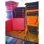 Almohadones Para Sillas En Ecocuero 40x40x5 Todos Los Colore