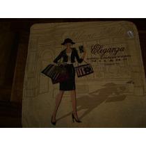 Almohadones Vintage 45 X 45 Cm C/borde Grueso Dorado