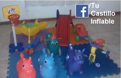 Alquiler De Castillo Inflables Metegol Tejo Cama Elastica