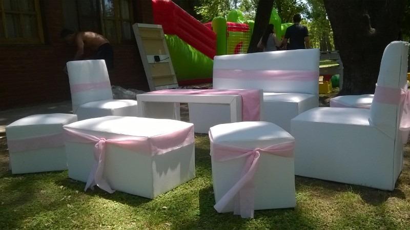 Alquiler de vajilla manteleria mesas sillas y living for Sillas para living
