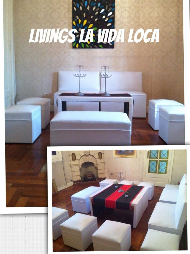 Alquiler Puff Led Livings Sillones Inflables Eventos