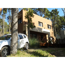 Casa 3 Dorm Mar Azul No Mar De Las Pampas Deck Parrilla