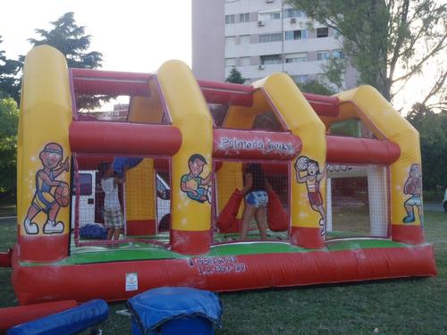Alquiler Toro Mecanico,cancha Futbol Cama Elastic 1558250193