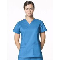 Ambos Ambo Médico Unifome Color Tela Guardapolvo