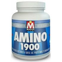 Amino 1900 Mervick 120 Comprimidos Arginina L-glutamina Bcaa