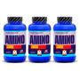 Amino 1900 Mervick 360 Comprimidos Arginina L-glutamina Bcaa