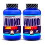 Amino 1900 Mervick 240 Comprimidos Arginina L-glutamina Bcaa