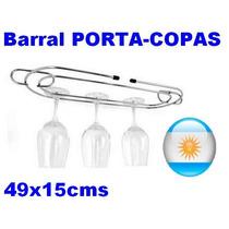 Portacopa Colgante Metal Cuelgacopa Barral Copa Copero