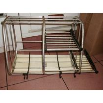 Secaplatos De Aluminio 49 Cm X 30 Con Bandeja Escurridora