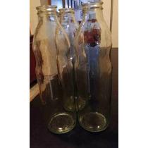 Botellas De Vidrio 1 Litro Para Decorar O Para Bebida