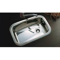 Pileta Cocina Simple Johnson Acero E60 Bacha