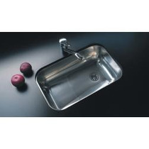 Pileta Bacha Cocina Acero Johnson Simple Z 52 Cr Linea 304