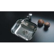 Pileta Cocina Simple Johnson Acero E37 Bacha