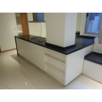 Easy mesadas de cocina precios amoblamientos de cocina for Precio metro lineal encimera granito