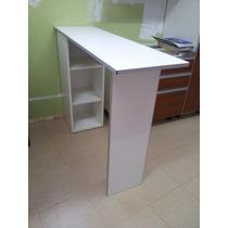 Desayunadores Barras Cantos De Aluminio, Mueble 2 Estantes