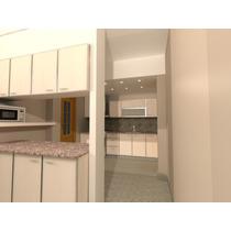 Arquitectura + Carpinteria Cocinas Mel. Canto Aluminio