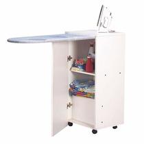 Organizador De Planchado Rebatible + Puerta + Ruedas
