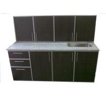 Muebles De Cocina C/cantos De Aluminio Completisimo 1,80 Mt