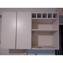 Mueble De Cocina. Alacena. Melamina Blanca 18mm.