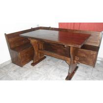 Mesa laqueada para cocina con banco esquinero blanco for Banco esquinero con mesa
