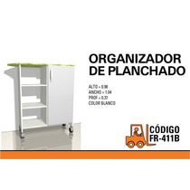 Organizador De Planchado Fr-411 Cedro O Blanco 1 Puerta